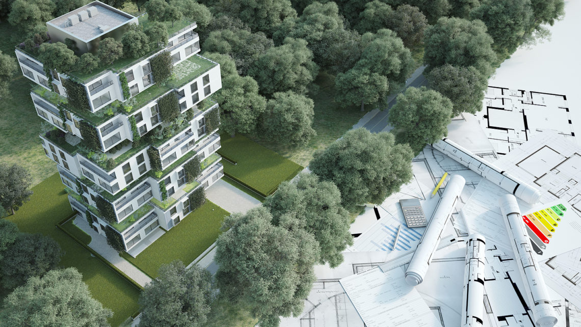 3D Rendering of a Sustainable Design